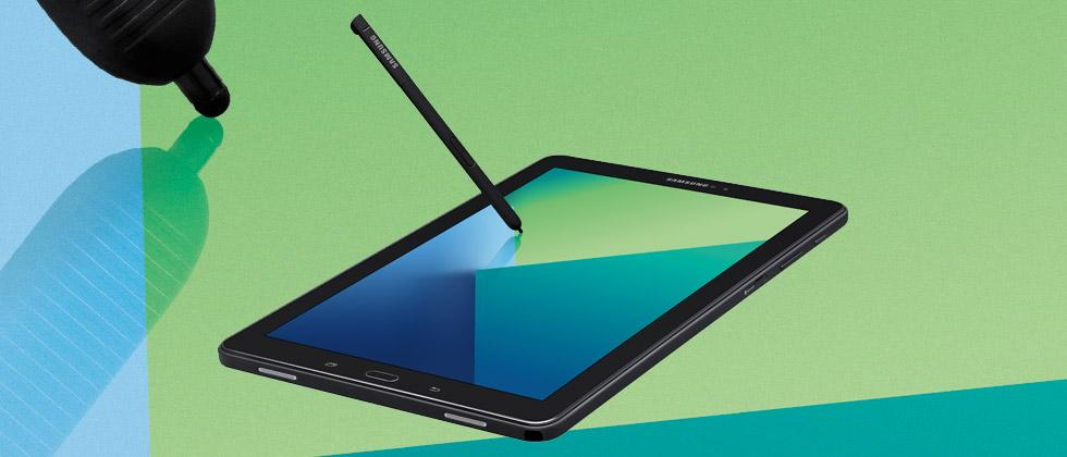 Galaxy Tab A 10.1 keeps Note alive with S Pen