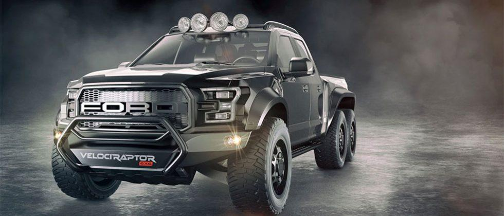 VelociRaptor 6×6 concept can be yours for $295,000