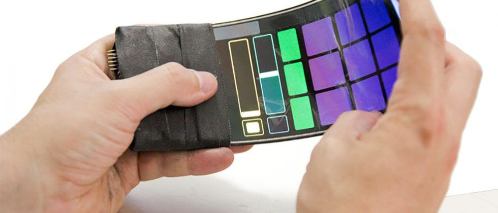 WhammyPhone is a bendable smartphone that makes music when bent