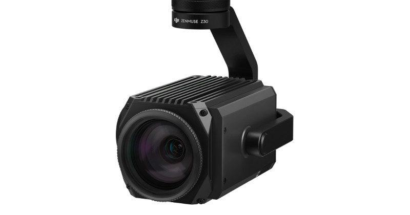 DJI Zenmuse Z30 offers 30x optical zoom for industrial use