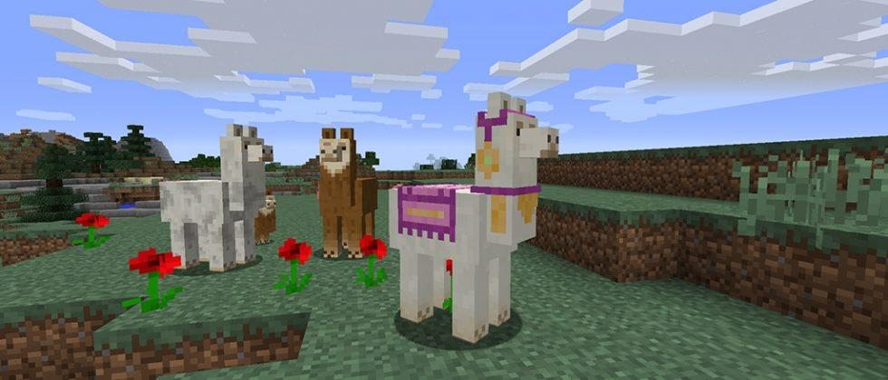 Minecraft 1.11 Exploration Update launches with loot and llamas