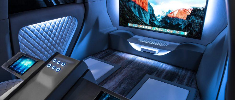 Kia's vision of autonomous cars is a private jet on wheels