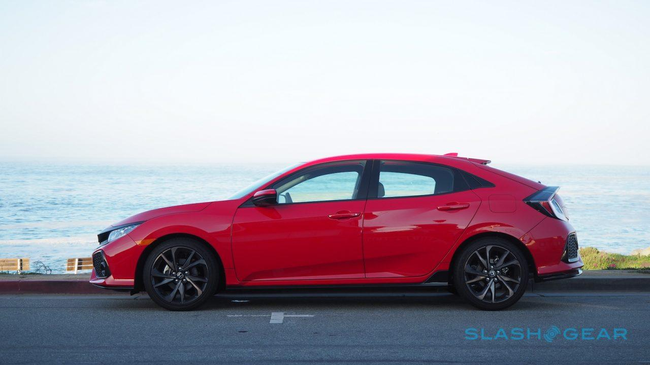 2017 Honda Civic Hatchback First Drive Slashgear