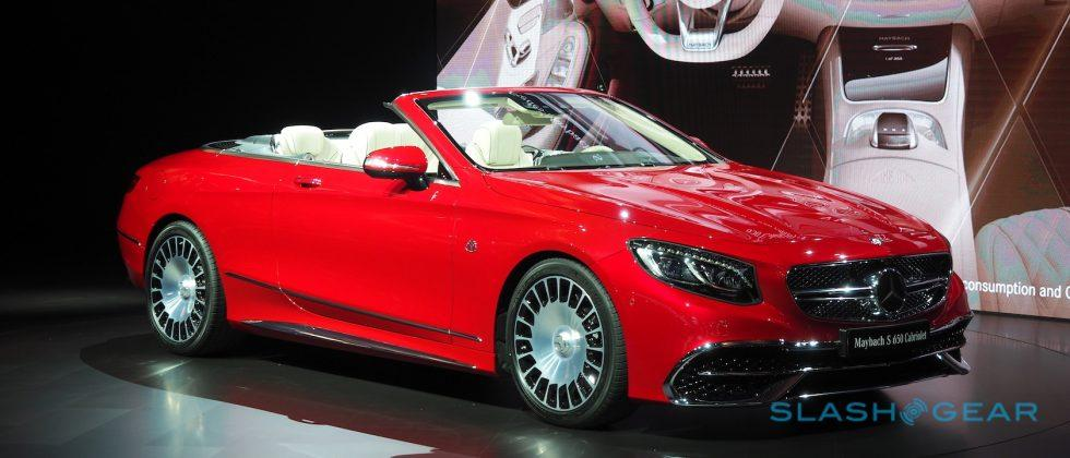 The Mercedes-Maybach S 650 Cabriolet is kinda ridiculous