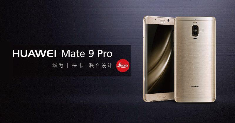 Huawei Mate 9 Pro is the Porsche Design sans Porsche Design