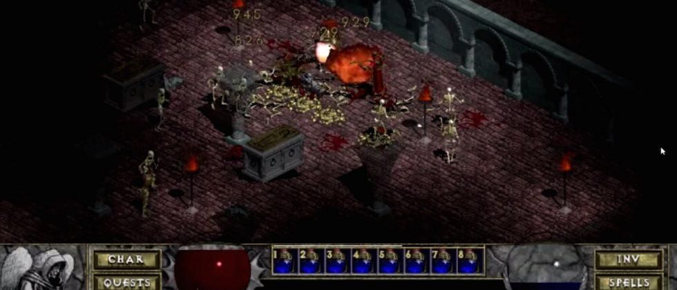 Blizzard is recreating the original Diablo inside Diablo 3