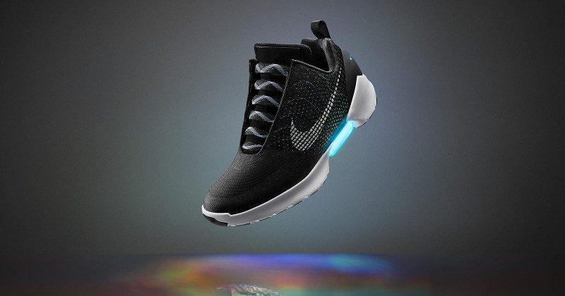"""Nike Hyperadept """"self-tightening"""" shoes coming next month"""