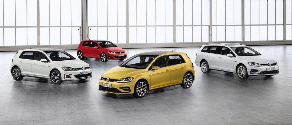 Volkswagen reveals Golf refresh lineup for 2017