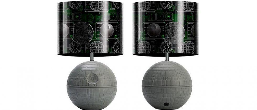 Star Wars Death Star LED desk lamp doubles as a night light