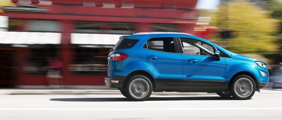 Ford EcoSport cute ute unveiled at 2016 LA Auto Show