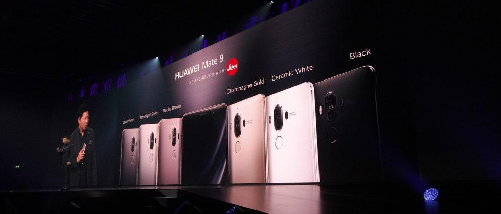 Huawei Mate 9 hardware details revealed