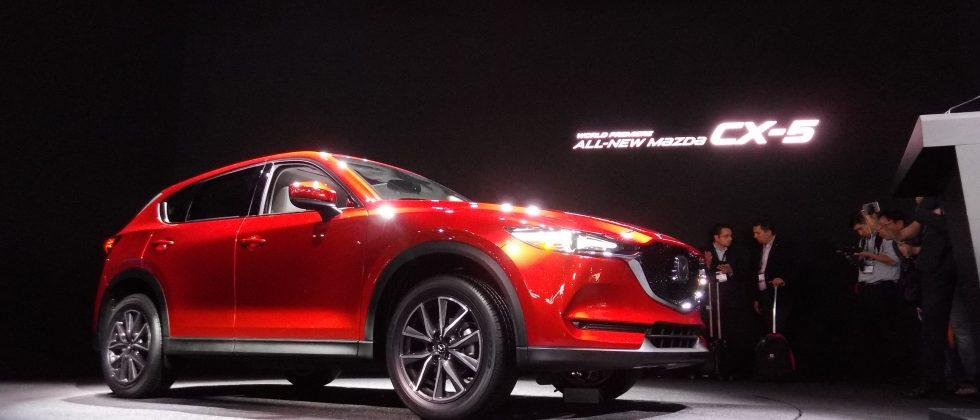 Redesigned 2017 Mazda CX-5 SUV keeps the spice, could add diesel