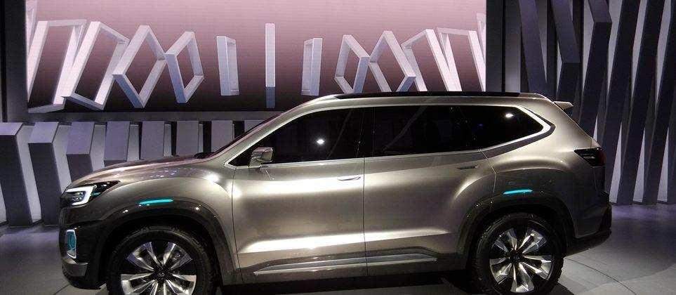 Subaru Viziv-7 Concept promises 7-passenger full-size SUV at 2016 LA Auto Show