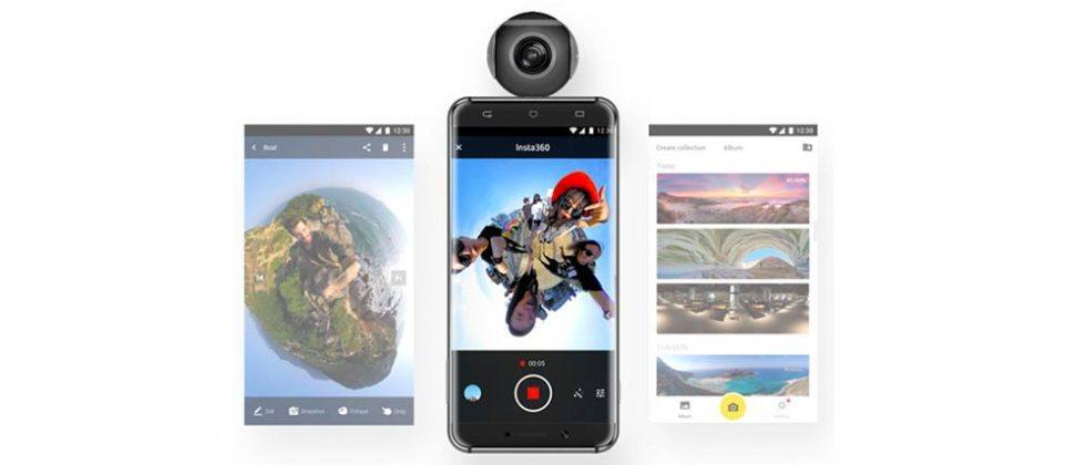 Insta360 Air VR camera clips onto any Android smartphone