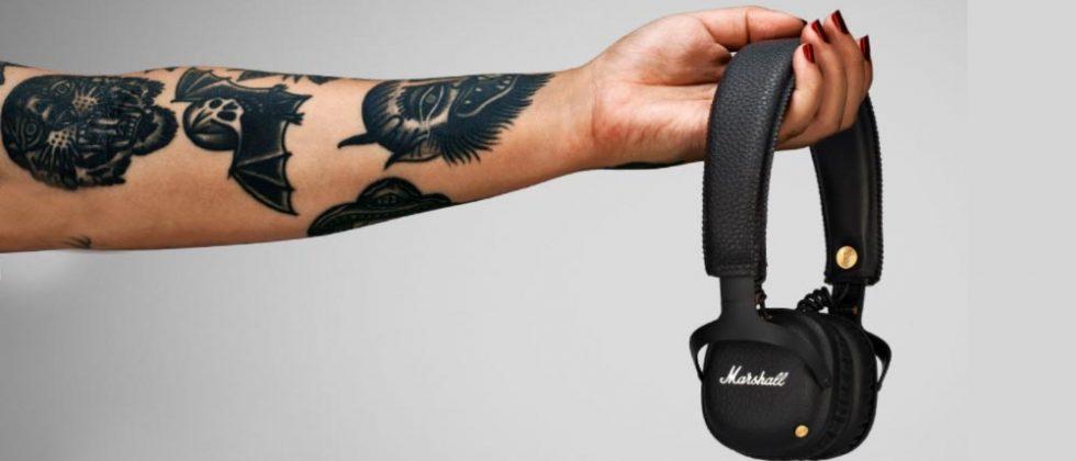 Marshall Mid Bluetooth headphones boast 30+ hours of playback