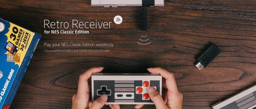 NES Classic Retro Receiver solves the problem of short controller cables