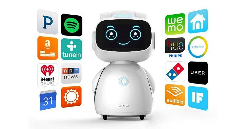 Omate Yumi is an Android, Amazon Alexa powered home robot