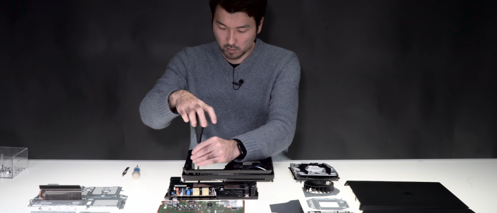 Sony shows off PlayStation 4 Pro internals in new teardown video