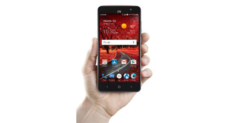 ZTE Grand X 4 brings affordable power to Cricket Wireless