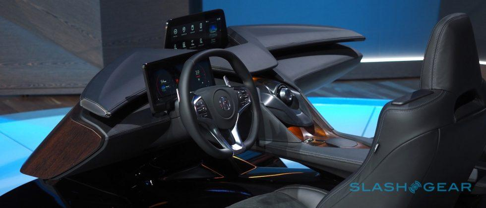 Bucking trends, Acura reveals vision of tomorrow's dashboard