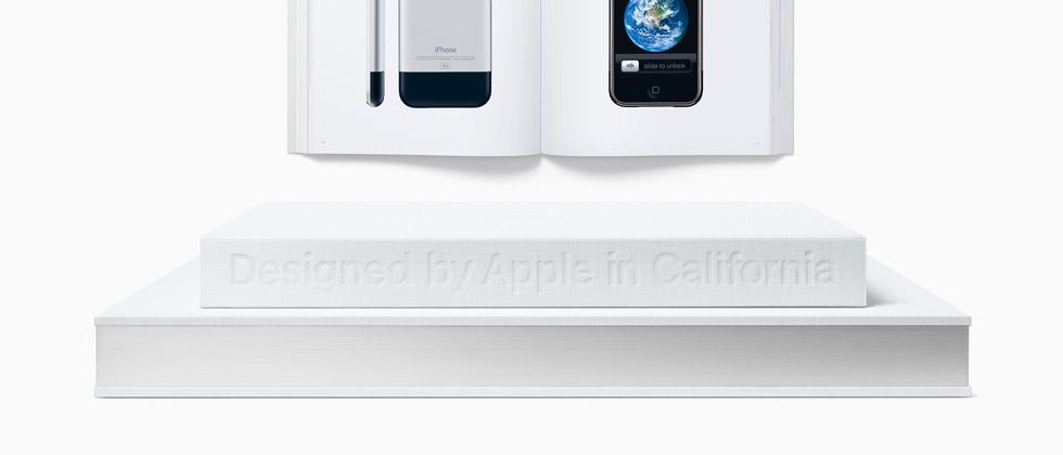 """Apple's photo book """"Designed by Apple in California"""" is 18-years long"""