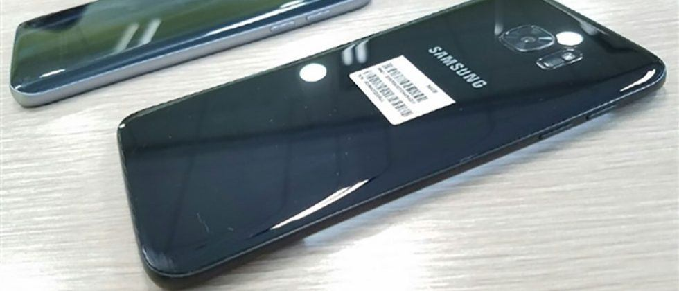 Galaxy S7 Edge in glossy black shines in leaked images