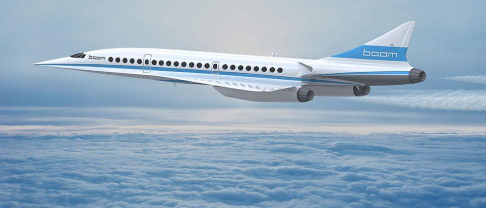 Boom Technology XB-1 Supersonic Demonstrator subscale prototype debuts