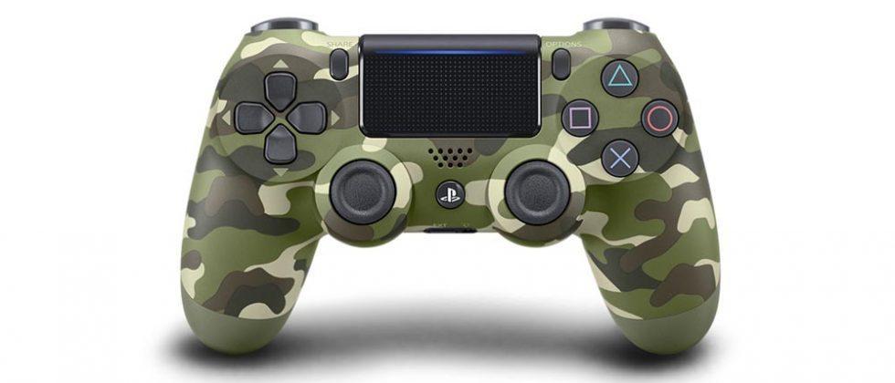 PS4 DualShock 4 green camo controller arrives in December