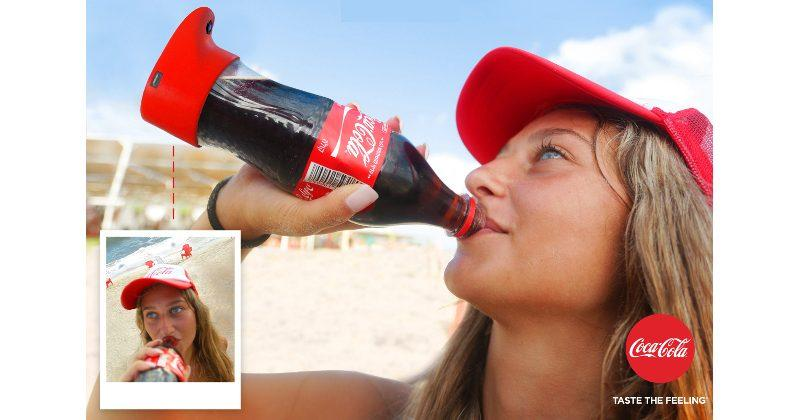 There's a Coca-Cola Selfie Bottle because why not