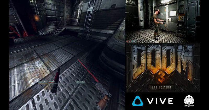 Doom 3 BFG mod brings the game to virtual reality