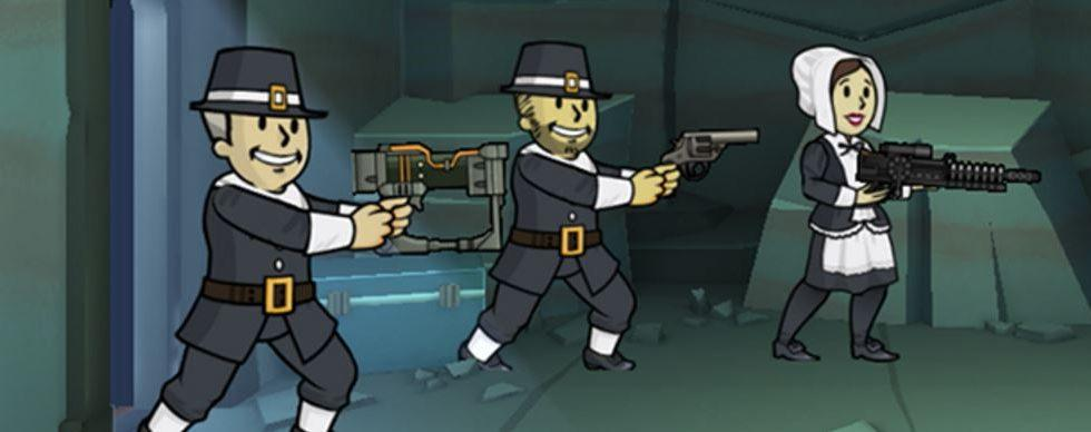 Fallout Shelter 1.9 update celebrates Thanksgiving in the wasteland