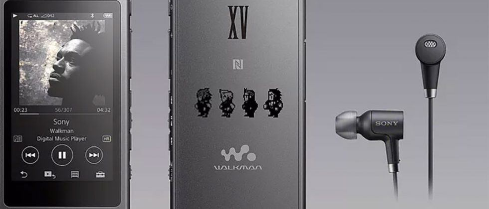 Limited Edition Final Fantasy XV Walkman, headphones, and speaker hit Japan