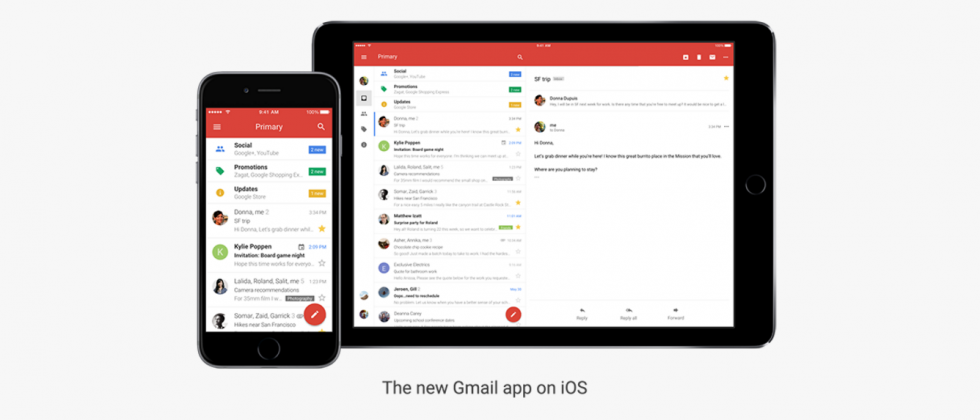 In Gmail for iPhone update Google tackles screwups and speed