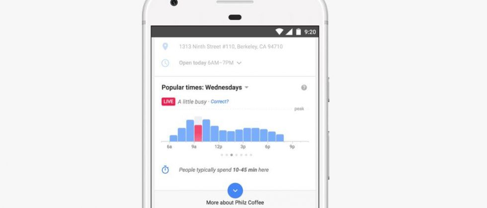 Google Search popular times feature gets a boost for holiday shopping