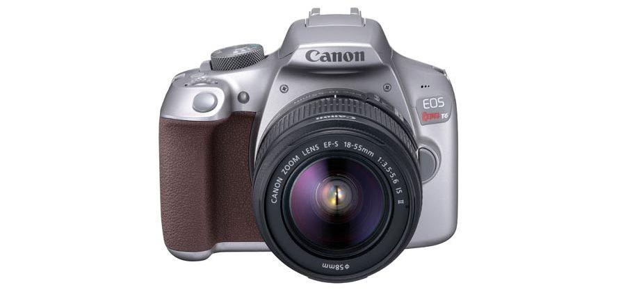 Canon EOS Rebel T6 with gray design quietly launched in U.S.