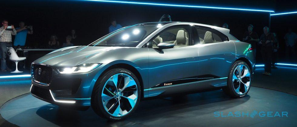 Jaguar I-PACE Concept previews Model X rivaling EV for 2018