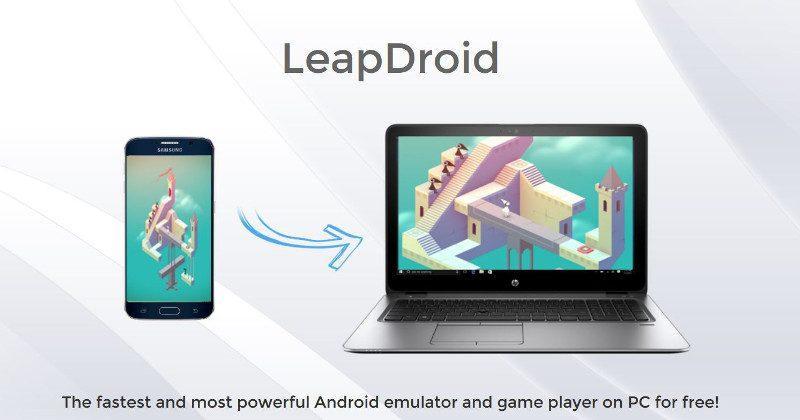 LeapDroid creators join Google, abandons Android PC emulator