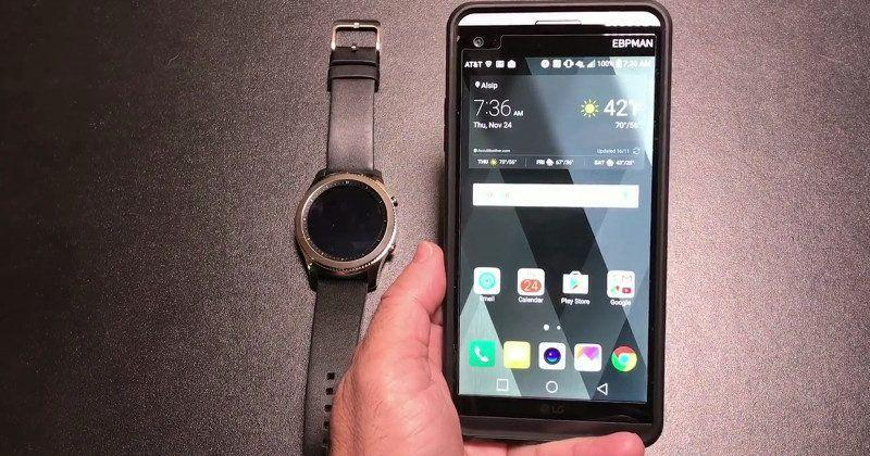 Samsung Gear S3, Pay works on LG V20, not on Google Pixel