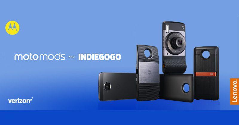 Motorola, Indiegogo team up to push Moto Mods forward