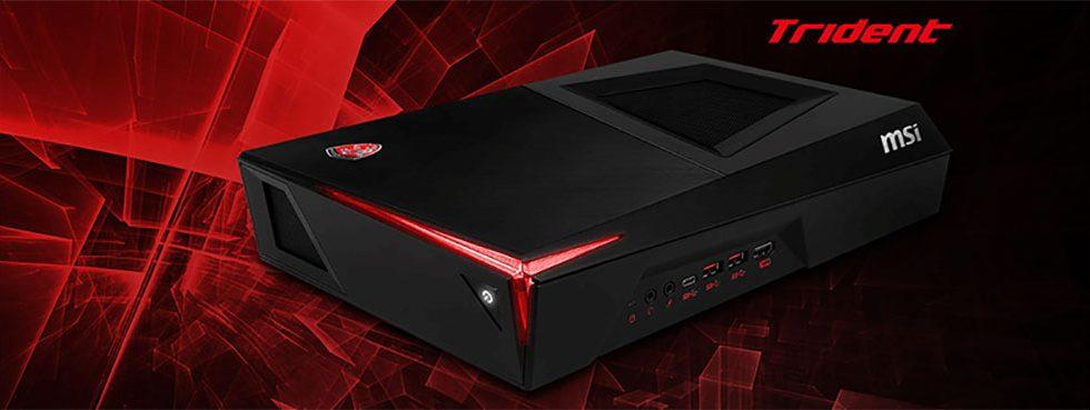 MSI Trident is a tiny VR ready gaming rig packing GeForce GTX 1060 graphics
