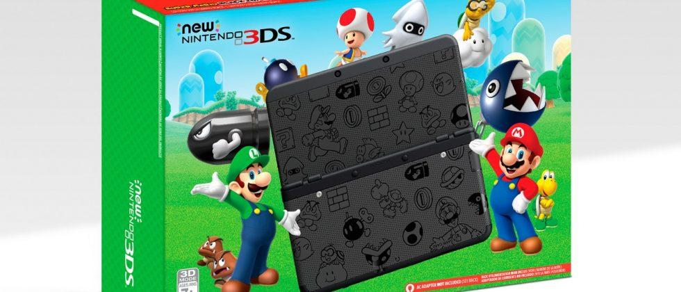 Nintendo drops New 3DS to $100 for Black Friday