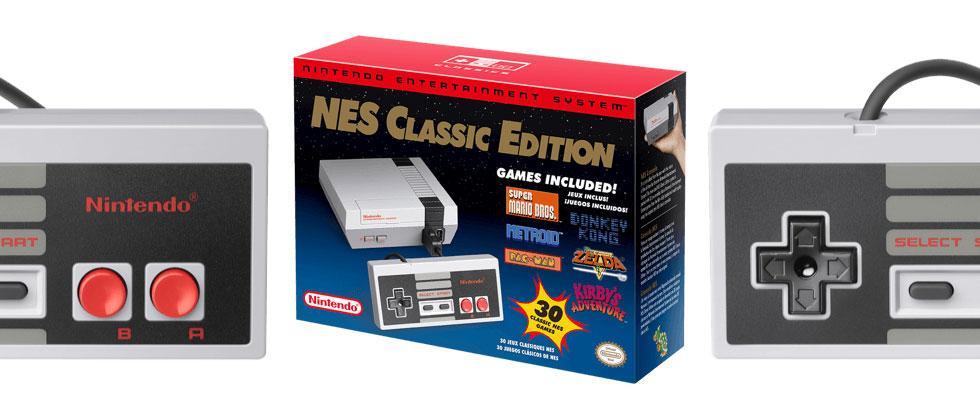 NES Classic Edition Amazon, Walmart, GameStop release details