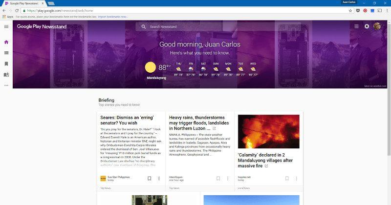 Google Play Newsstand update adds a web app to its team
