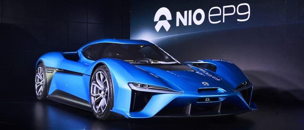 This NIO EP9 performance EV wants to be the Tesla of supercars