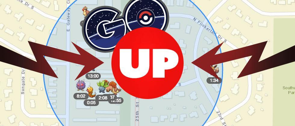 PokeVision alternative FastPokeMap returns for Pokemon GO