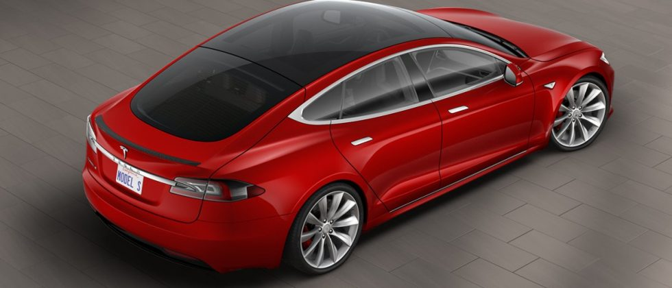 Tesla Model S now has an all-glass roof option