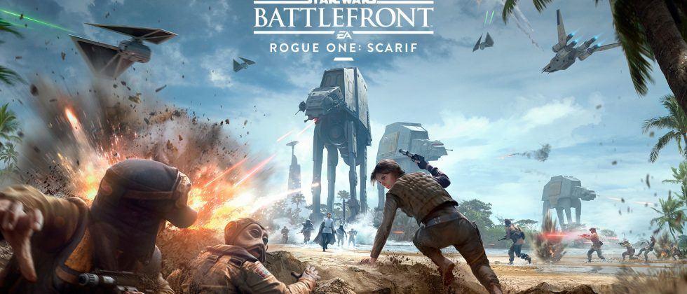 Star Wars Battlefront Rogue One DLC unveiled, quadruple XP weekend continues