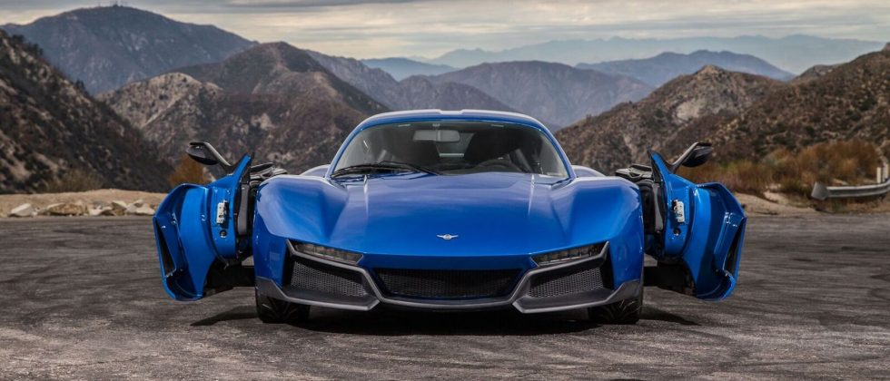 The Rezvani Beast Alpha's crazy doors almost overshadow its speed