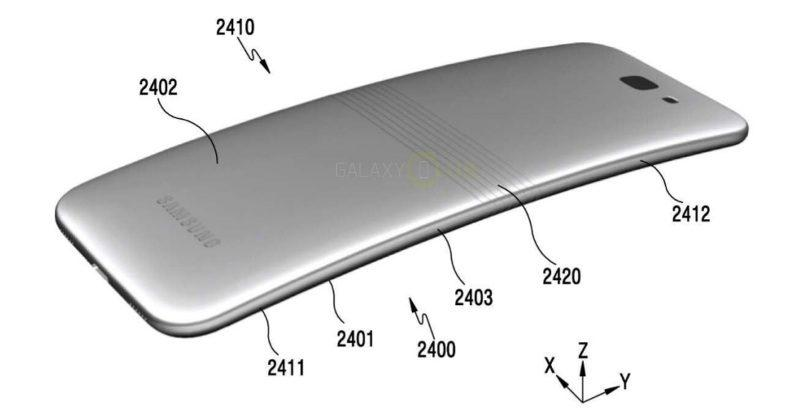 """Galaxy X"" patent reveals Samsung's foldable smartphone idea"