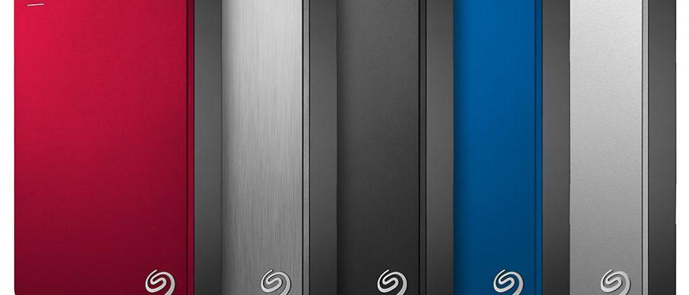 Seagate Backup Plus Portable 5tb Crams 1tb Data Per Platter Slashgear
